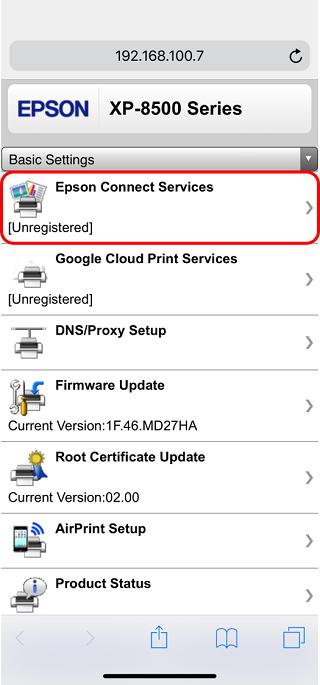 Epson Connect